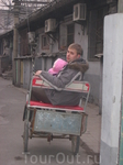 """Прогулка на рикшах по Хутунам. Дааа, и надули же нас тогда """"рикшисты""""(((.  Так что лучше не вестись на их уловки и не прыгать на рикшу, если вы только ..."""