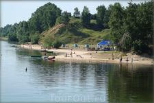 пляж на Белой речке