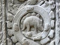 Динозаврик в храме Та Пром
