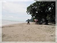 Пляж White Sands Beach.