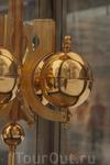 новый город Neue Stadt . Замечательные часы с блестящим шариком!