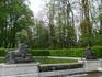 В парке замка Херренкимзее