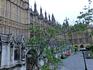 Парламент. Готические здания Вестминстерского дворца, здания палаты Общин и палаты Лордов, объединенные одним именем The Houses of Parliament, отстроенные ...
