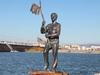 Фотография Памятник контрабандисту Геше Козодоеву