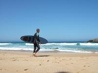 Рай для серферов.