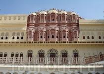 Джайпур. Палац вітрів (зворотній бік)