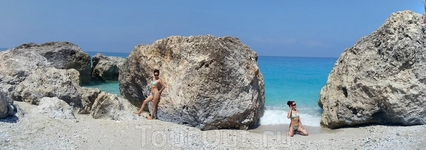 Дикий пляж Лефкады