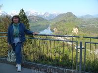 Баварские Альпы. Начало путешествия по замкам Людвига