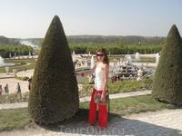 Сады Версаля - вхо 8 евро