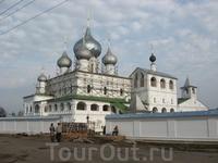 Восстанавливающийся мужской монастырь в Угличе