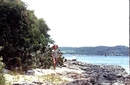 Это я на коралловом острове