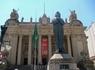 Поездка в старинный квартал Рио. Дворец Тирадентис. Здесь  сейчас распологается законодательное собрание штата, а раньше была королевская резиденция.