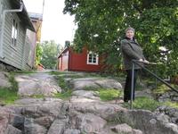 """""""Чертова лестница"""", так финны прозвали эти скальные уступы, напоминающие ступени лестницы"""