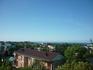 Вид на город и море с балкона номера который снимали в п.Лазаревское