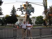 Ростов. Проходная вертолетного завода.