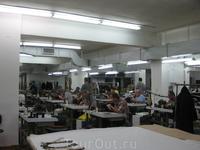 производственный цех на фабрике P.K.Z. furs