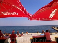 Пляж Ланжерон.