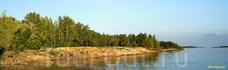Выход из Даниловки в Волгу - очень красив. Несмотря на труднодоступность, он плотно заселеным рыбаками.