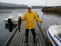 Рыбалка удалась.
