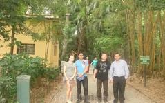 А это наши знакомые из Сан-Паулу. Они изучают английский и были нашими гидами по Сан-Паулу