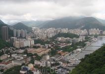 Виды Рио с высоты птичьего полета