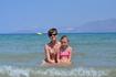Я и дочка. Традиционное фото:)