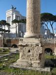 В Риме. Древние раскопки на каждом шагу