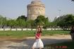Белая башня-символ города