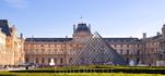 Центральный вход в Лувр