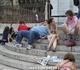 А новых русских тоже сразу видно! Жирный боров на ступенях Сакра Кер матом кроет кого то из россиян по телефону...Вот и назовись русским в Париже!!