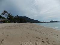 какой-то пляж на Самуи