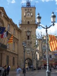 Эксская городская ратуша с часовой башней