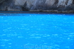 Водичка голубая и правда. Все из-за особого состава минералов и солей.