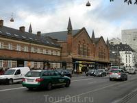 Копенгаген. Вокзал.