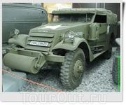 Лёгкий многоцелевой бронетранспортёр США M3A1 Scout Car. Серийное производство велось с 1937 по 1944 гг., всего было выпущено 20 994 машин этого типа. ...