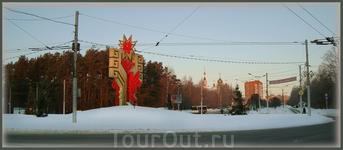 кольцо-перекрёсток улицы Гузовского, Московского проспекта, проспекта Никольского и Ядринского шоссе