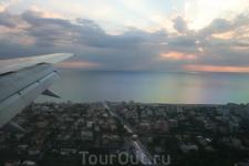 Под крылом самолета Италия