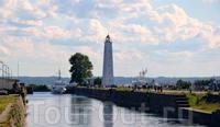 Башня-маяк на Петровском канале