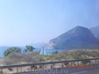 По дороге из Анталии- в Кемер - Черепаший остров
