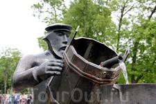 Водовоз возле Музея истории Кронштадта