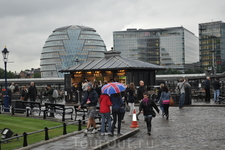 Неожиданный Лондонский дождь.
