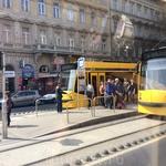 А это знаменитые будапештские трамваи, длина которых составляет почти 54 метра!!! Это самые длинные в мире трамваи!