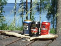 пивко финское. вобла наша