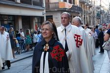 Сегодня- день Покровительницы Мерсе-это большой праздник, в котором участвуют все жители города Барселоны, к тому же это нерабочий день. И к тому же праздник ...