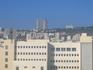 Славный город Хайфа на горизонте. Как говорят, второй город Израиля.
