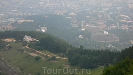 Вид на Кисловодск.
