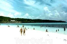 Один из прекрасных кубинских пляжей