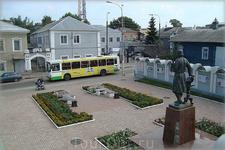 памятник купечеству на ул.Кирова