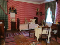 Спальная комната Рахманиновых во флигеле.
