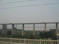 По пути в Сиань. Китай - сплошное строительство мостов, дорог, зданий